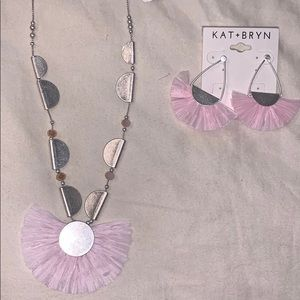 Kay + Bryn Boho Jewelry Set Adjustable Necklace